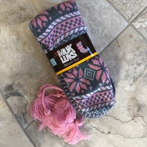 NWT MUK LUKS Slipper Sox